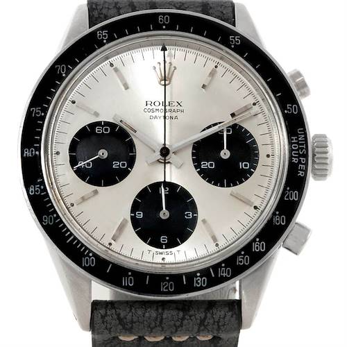 Photo of Rolex Cosmograph Daytona Vintage Stainless Steel Watch 6239