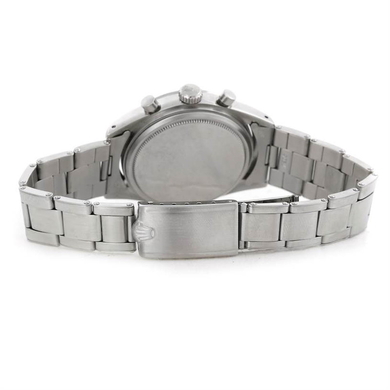 Rolex Chronograph Pre Daytona Vintage Stainless Steel Watch 6238 SwissWatchExpo