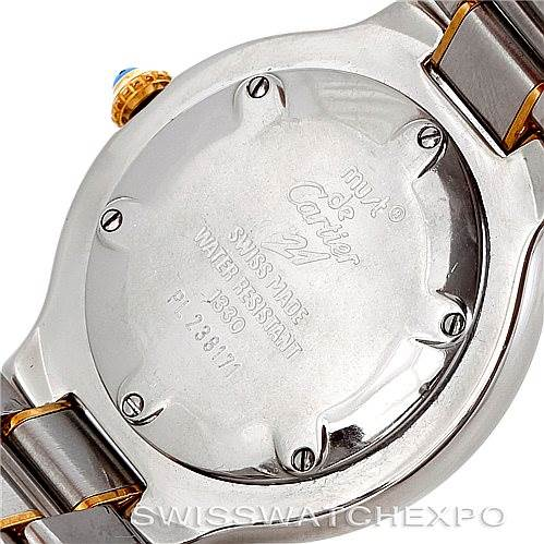 5362 Cartier Must 21 Steel and Gold Ladies Watch W10073R6 SwissWatchExpo