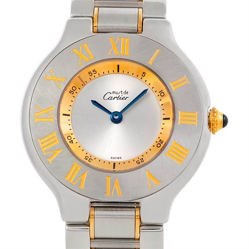 Photo of Cartier Must 21 Steel and Gold Ladies Watch W10073R6