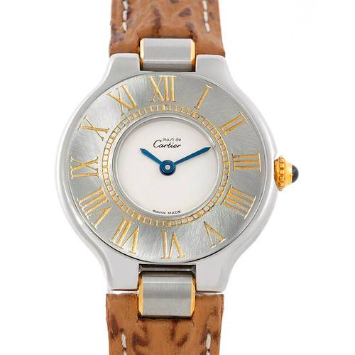 Photo of Cartier Must 21 Steel and Gold Ladies Watch W1007323