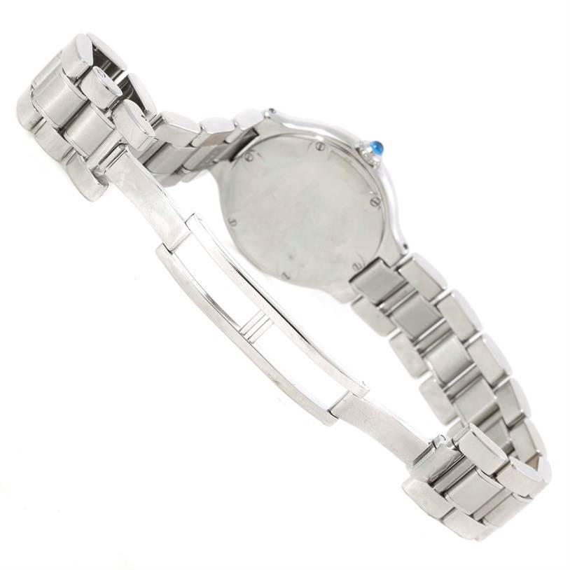 9828 Cartier Must 21 Stainless Steel Ladies Watch W10109T2 SwissWatchExpo