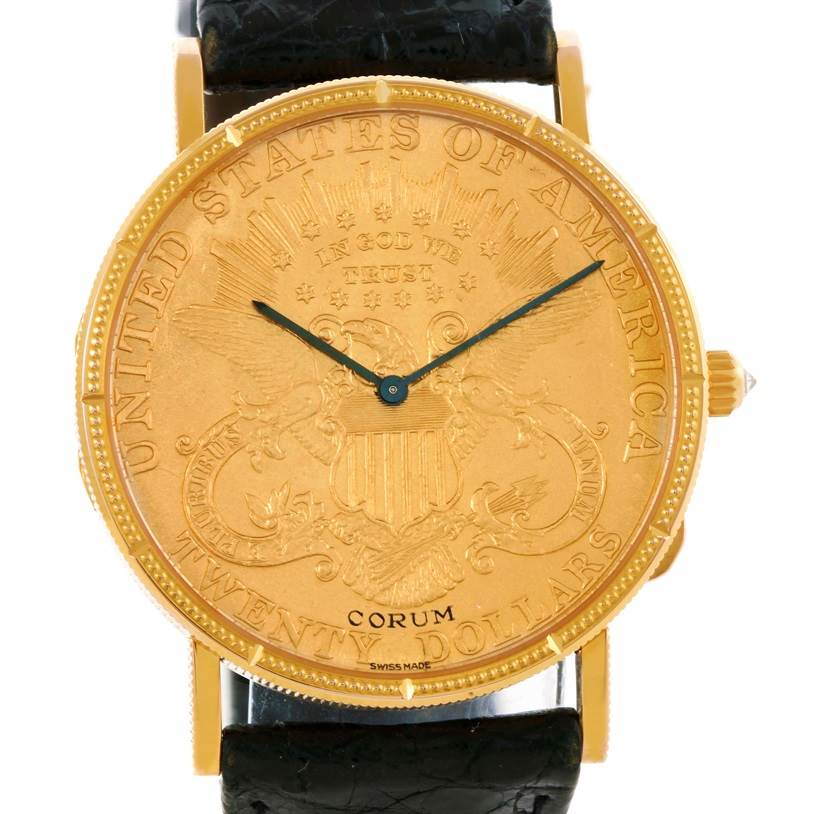 Photo of Corum 20 Dollars 18K Yellow Gold Coin 25th Anniversary LE Watch
