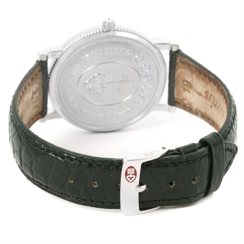 12530 Corum Celebrates Second Millennium 18K White Gold Automatic LTD Watch SwissWatchExpo