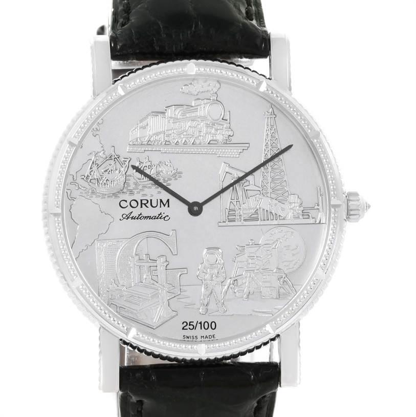 Photo of Corum Celebrates Second Millennium 18K White Gold Automatic LTD Watch