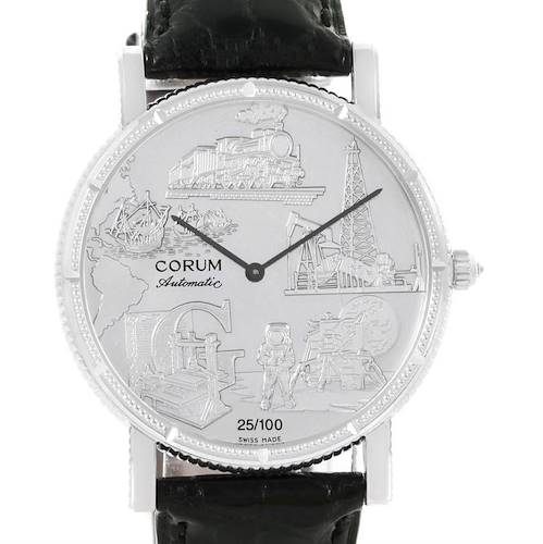 Photo of Corum Celebrates Second Millennium 18K White Gold Automatic LTD Watch
