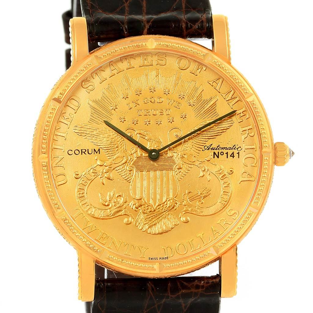 Photo of Corum 20 Dollars Yellow Gold Coin 20th Century Celebration Automatic LE Watch