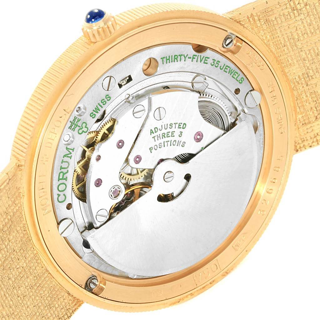 18246 Corum 20 Dollars Double Eagle Yellow Gold Coin Year 1895 Automatic Watch SwissWatchExpo
