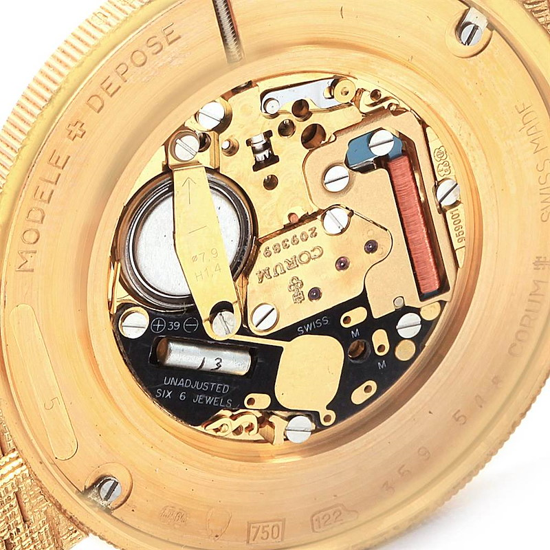 Corum 20 Dollars Double Eagle Yellow Gold Coin Year 1904 Mens Watch SwissWatchExpo