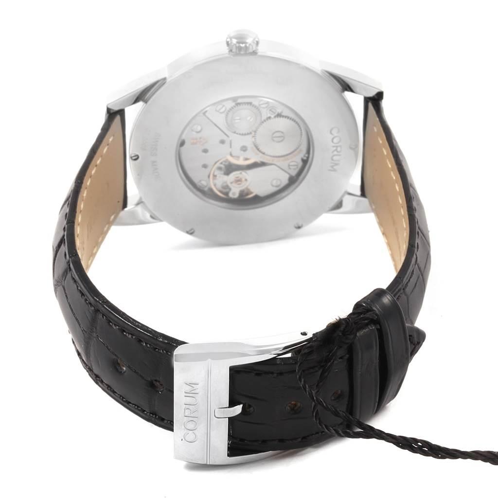 20701A Corum Heritage Mechanical Steel Mens Watch V157/02614 Unworn SwissWatchExpo
