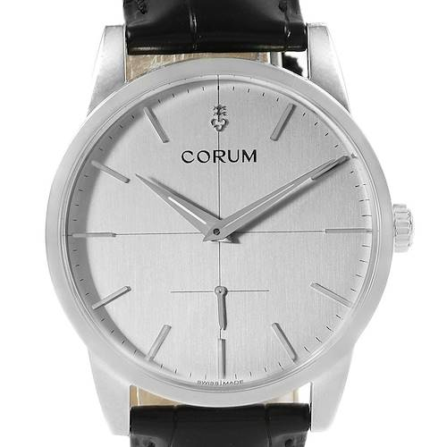 Photo of Corum Heritage Mechanical Steel Mens Watch V157/02614 Unworn