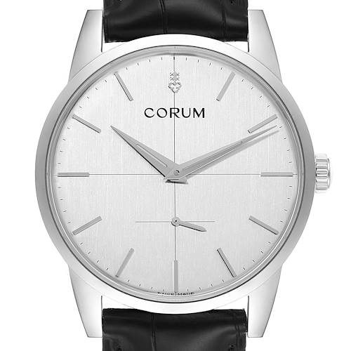 Photo of Corum Heritage 38mm Silver Dial Steel Mens Watch V157/02614