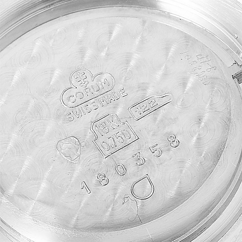 Corum 18K White Gold Diamond Vintage Cocktail Ladies Watch SwissWatchExpo