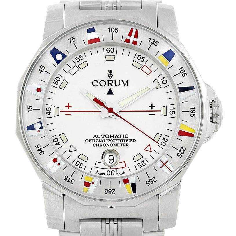 Photo of Corum Admiral's Cup Automatic Steel Men's Watch 982.630.20