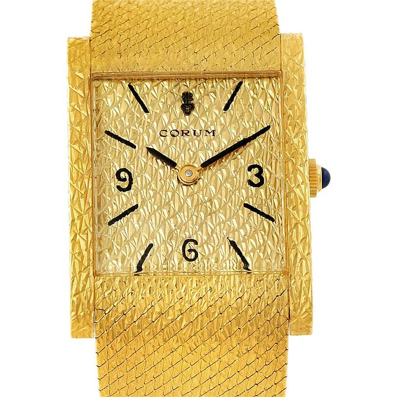 Photo of Corum Vintage 18K Yellow Gold Mens Watch 8764
