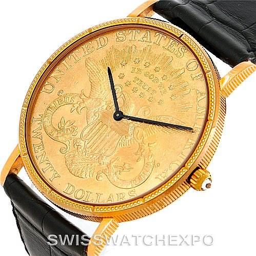 ef3dcbdf01525 Corum 20 Dollar Gold Coin Watch - New Dollar Wallpaper HD Noeimage.Org
