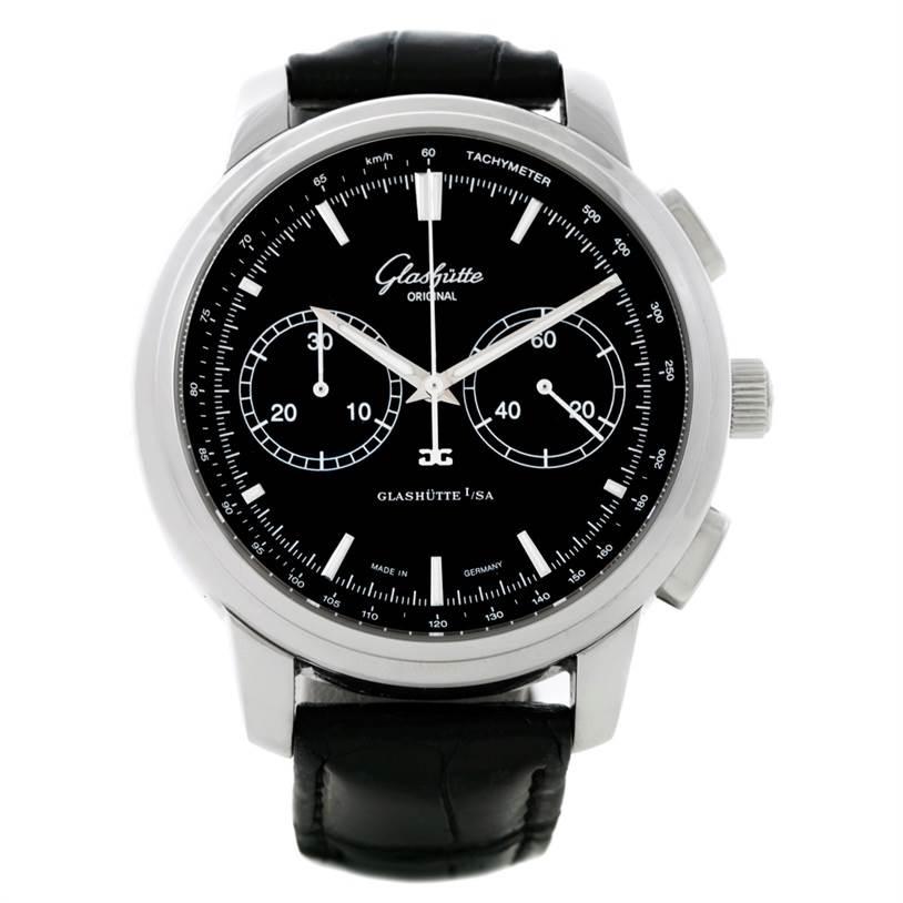 Glashutte Original Senator Chronograph XL Watch 39-34-20-42-04 SwissWatchExpo