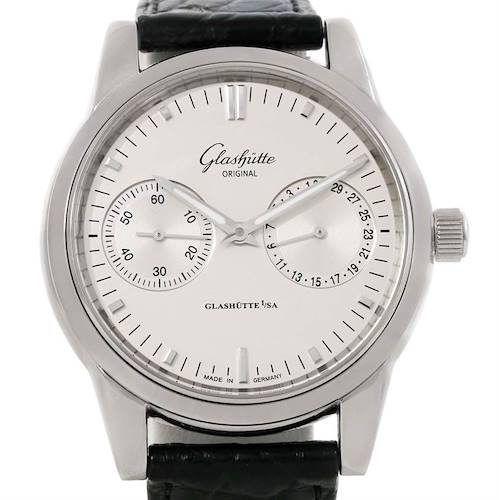 Photo of Glashutte Original Senator Hand Date Chronograph Watch 39-58-02-02-04