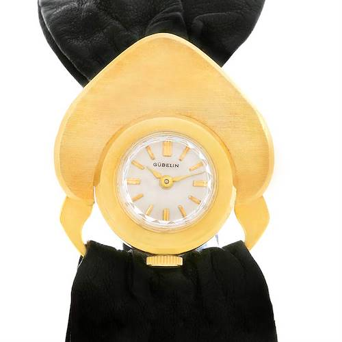 Photo of Gubelin 18K Yellow Gold Vintage Cocktail Ladies Watch