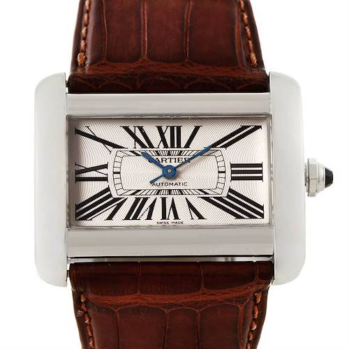 Photo of Cartier Tank Divan Large Stainless Steel Watch W6300755
