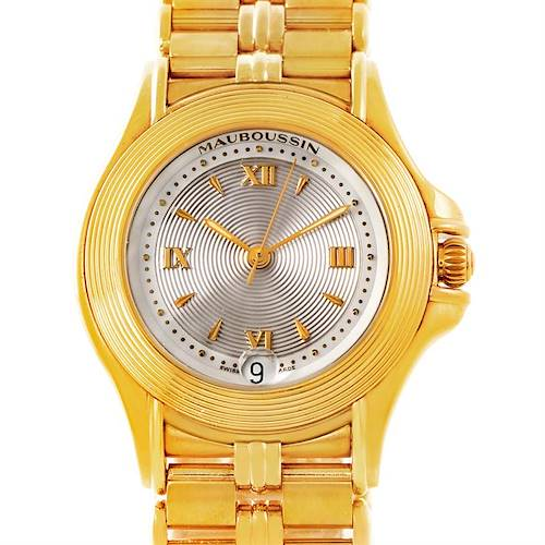 Photo of Mauboussin 18K Yellow Gold Mother of Pearl Ladies Watch 02368