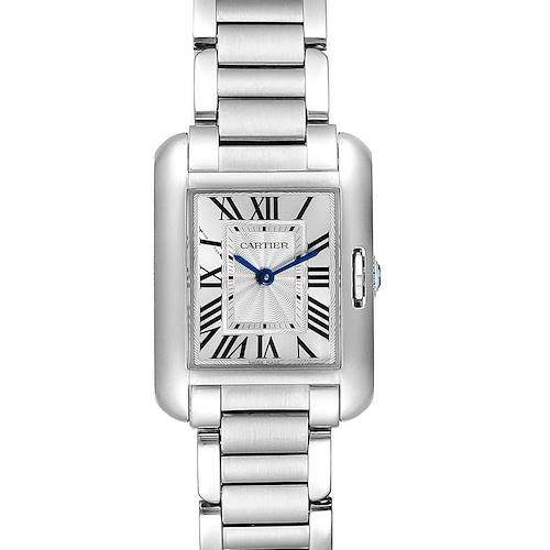 Photo of Cartier Tank Anglaise Small Steel Ladies Watch W5310022