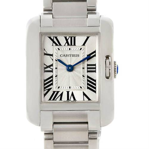 Photo of Cartier Tank Anglaise Small Steel Watch W5310022 Unworn