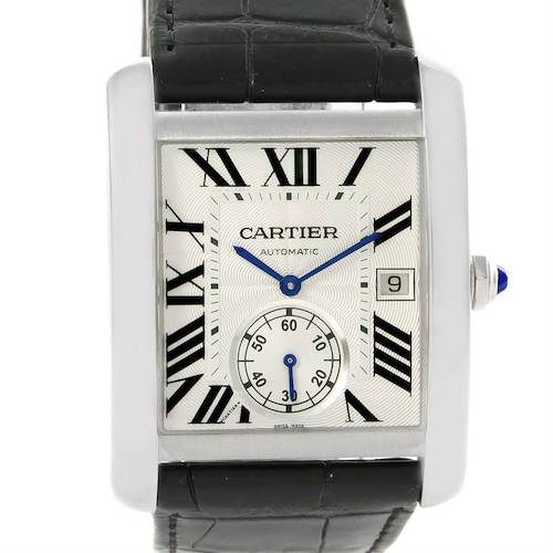Photo of Cartier Tank MC Automatic Silver Dial Mens Watch W5330003 Unworn