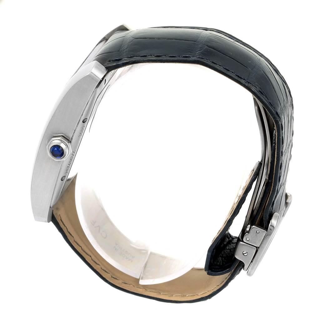 15118 Cartier Tank MC Blue Dial Automatic Mens Watch WSTA0010 SwissWatchExpo