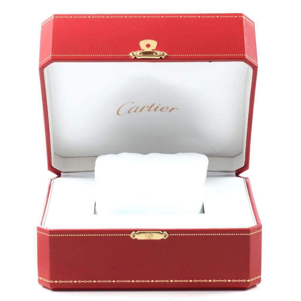 Cartier Tank MC Silver Dial Automatic Chronograph Mens Watch W5330007 Box SwissWatchExpo