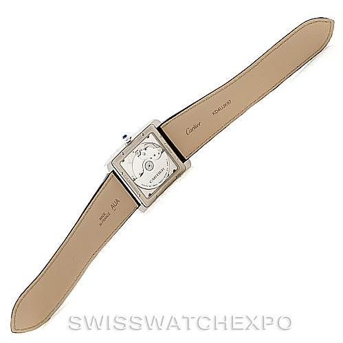 8016 Cartier Tank MC Automatic Silver Dial Mens Watch W5330003 Unworn SwissWatchExpo