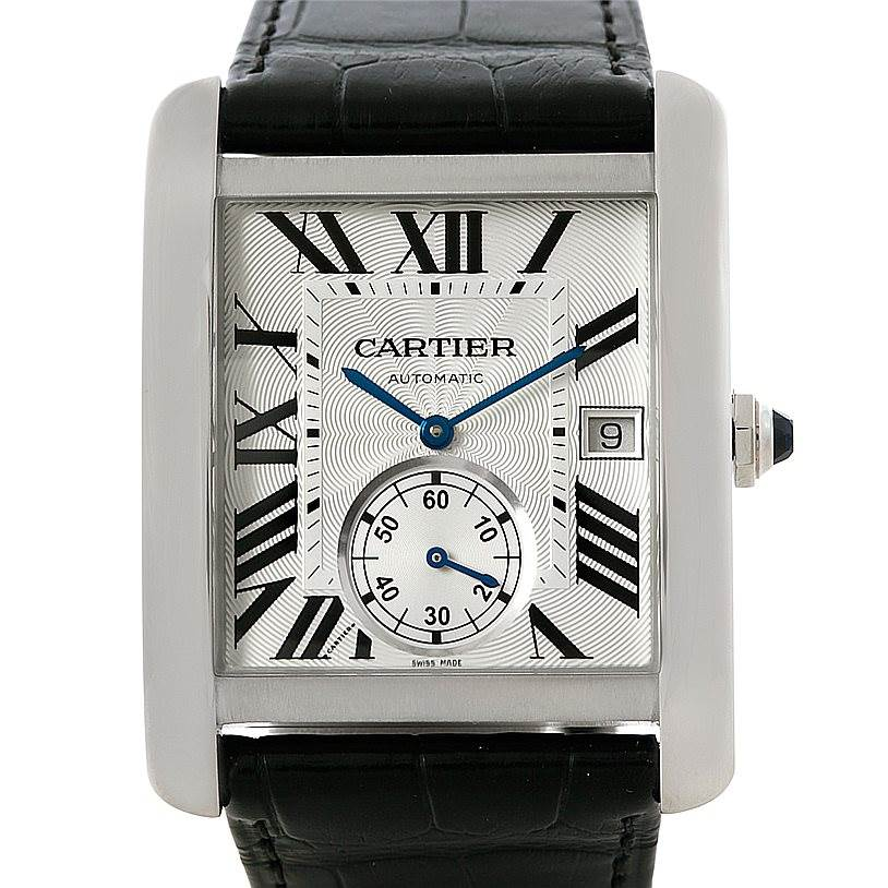 swisswatchexpo men s rolex atlanta dealers cartier watches cartier tank mc automatic silver dial mens watch w5330003 unworn