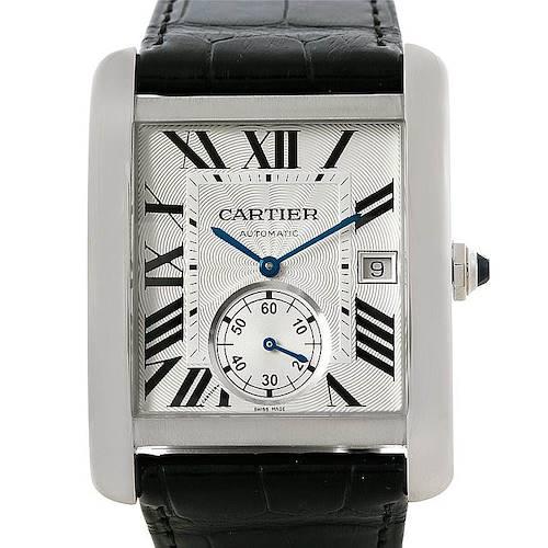 Photo of Cartier Tank MC Automatic Silver Dial Mens Watch W5330003 Unworn