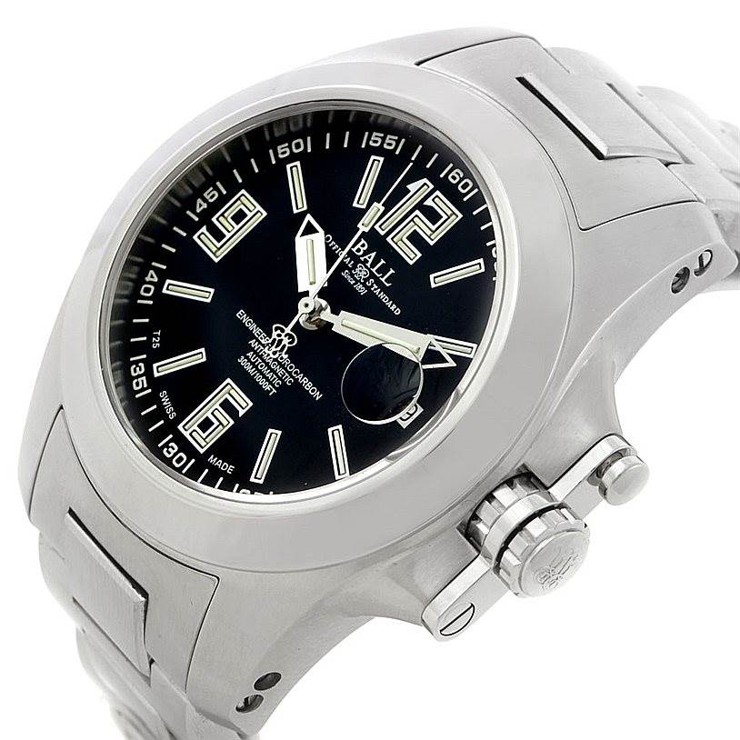 8094 Ball Engineer Hydrocarbon Magnate Steel Mens Watch NM1096A SwissWatchExpo