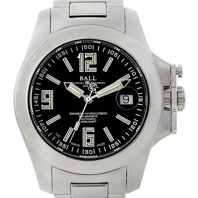 Photo of Ball Engineer Hydrocarbon Magnate Steel Mens Watch NM1096A