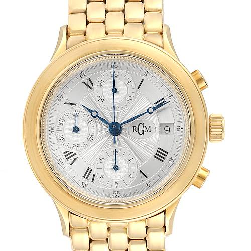 Photo of RGM 18K Yellow Gold Chronograph Mens Watch 101