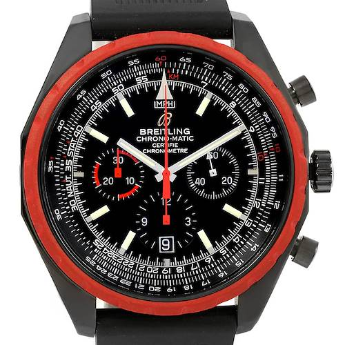 Photo of Breitling Chrono-Matic Red Bezel Limited Edition Mens Watch M14360