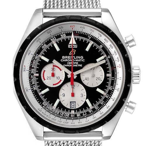 Photo of Breitling Chronomatic Chronograph Steel Mens Watch A41360