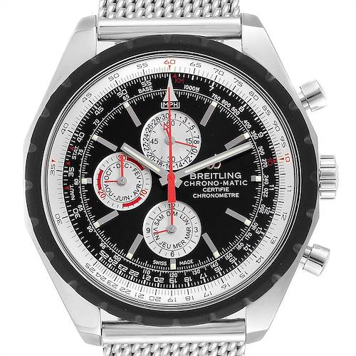 Photo of Breitling Chrono-Matic 1461 Mesh Bracelet Limited Edition Watch A19360