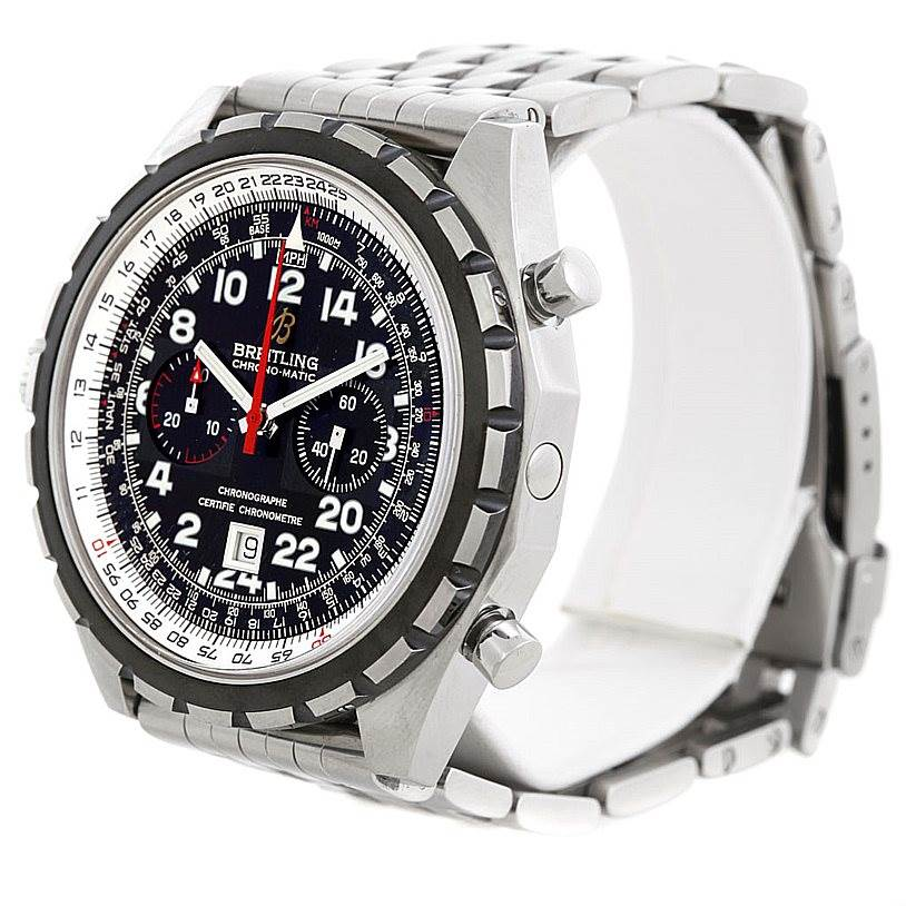 6215 Breitling Chronomatic Limited Edition Mens Watch A22360 24H SwissWatchExpo