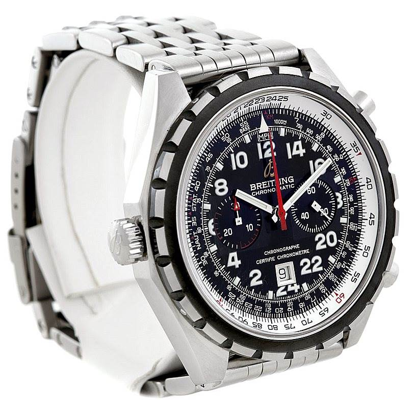 Breitling Chronomatic Limited Edition Mens Watch A22360 24H SwissWatchExpo
