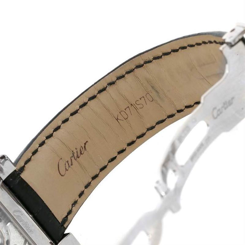 Cartier Tank A Vis Jumping Hour Paris Privee White Gold Watch W1533451 SwissWatchExpo