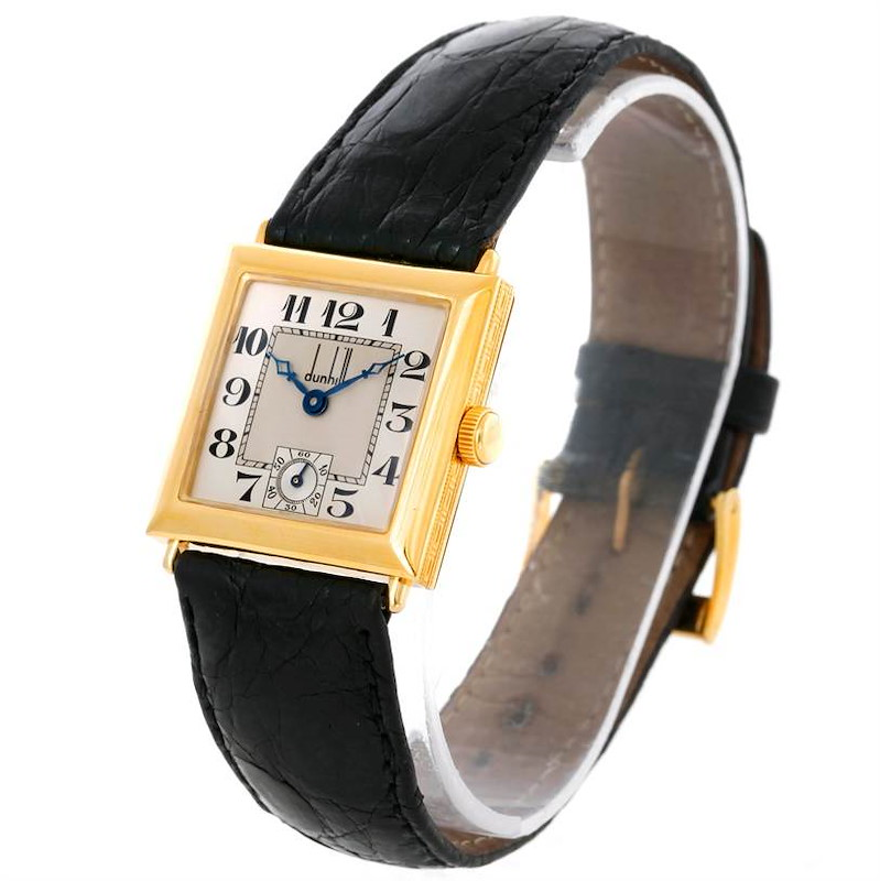 Dunhill 18K Yellow Gold Chronometer Limited Edition Watch SwissWatchExpo