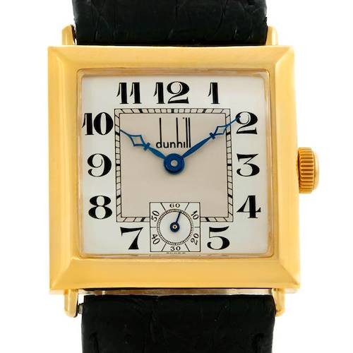 Photo of Dunhill 18K Yellow Gold Chronometer Limited Edition Watch