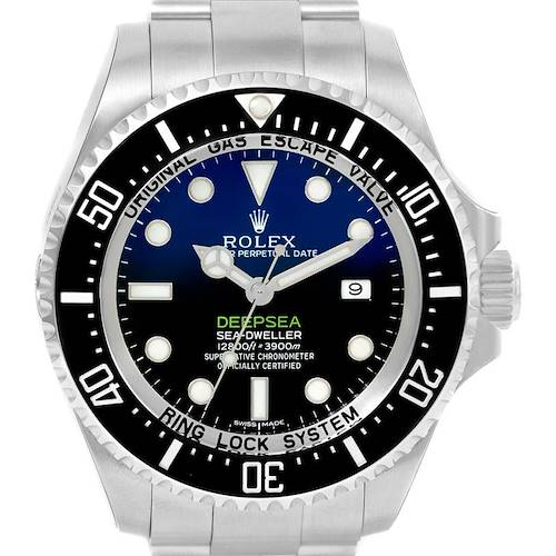 Photo of Rolex Seadweller Deepsea D-Blue Dial Cameron Mens Watch 116660 Unworn