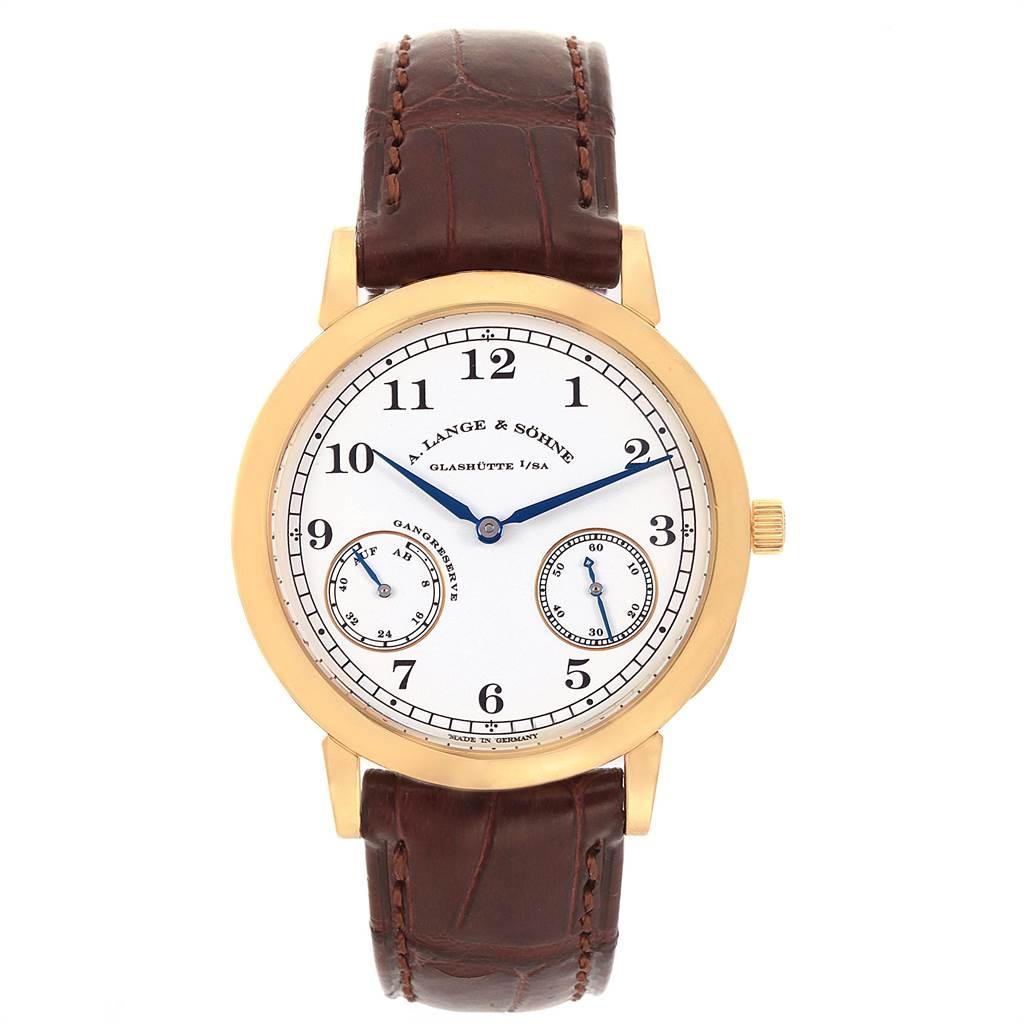 22052 A. Lange Sohne 1815 Yellow Gold Limited Edition 50 pieces Mens 223.021 SwissWatchExpo