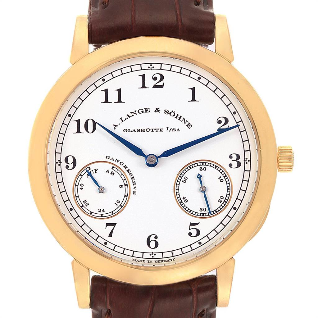 A. Lange Sohne 1815 Yellow Gold Limited Edition 50 pieces Mens 223.021 SwissWatchExpo