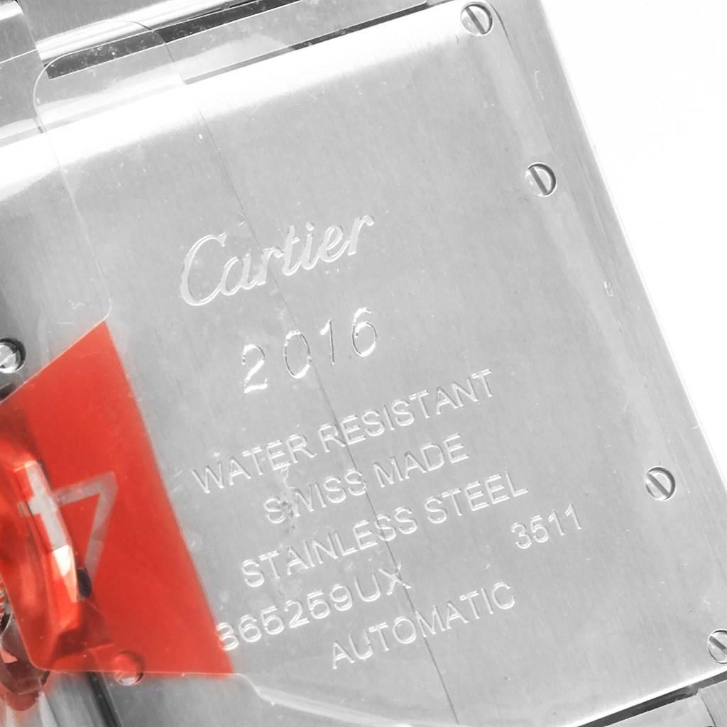 Cartier Tank Anglaise Steel Automatic Mens Watch W5310009 Unworn SwissWatchExpo