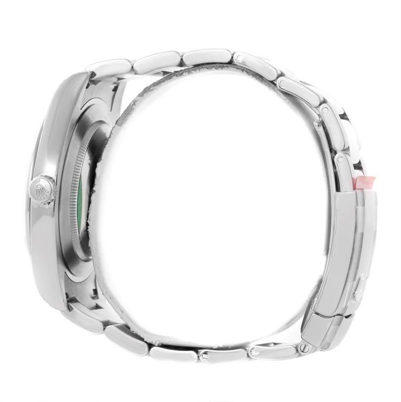 Rolex Datejust II Black Dial Mens Steel Watch 116300 Unworn SwissWatchExpo