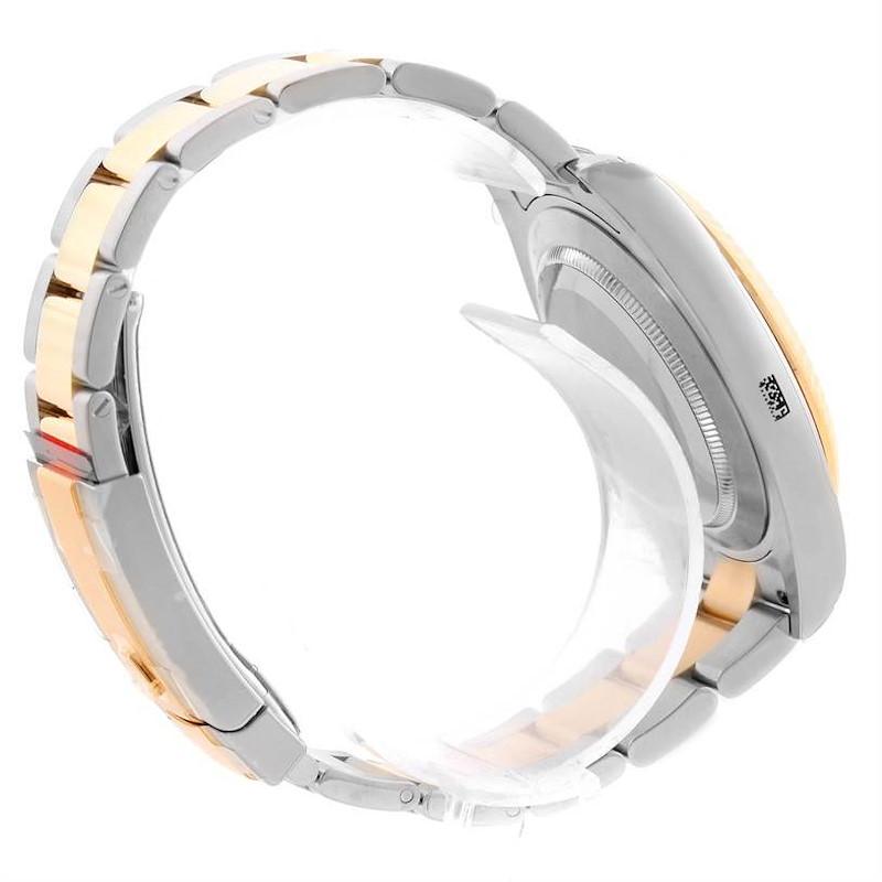 Rolex Datejust II Steel Yellow Gold Ivory Dial Watch 116333ISO Unworn SwissWatchExpo